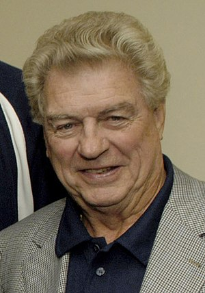Detroit Pistons - Chuck Daly, coach of the 1989 and 1990 NBA champions.