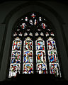 Church of St Mary Hatfield Broad Oak Essex England - chancel east stained glass window.jpg