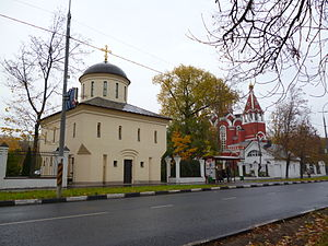 Church of the Annunciation in Petrovsky Park 12-10-2014.JPG, автор: Andreykor