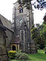 Church of the Holy Innocents, High Beach, Essex, England - tower from northeast.jpg