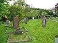 Churchyard, St Michaels Church, Doddiscombsleigh - geograph.org.uk - 1308604.jpg