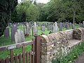 Churchyard of the 'old' church of St James', Woolsthorpe-by-Belvoir - geograph.org.uk - 434588.jpg