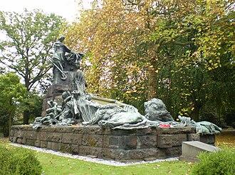 Brussels Cemetery - The British Waterloo Memorial