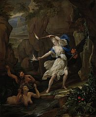 Circe Punishes Glaucus by Turning Scylla into a Monster