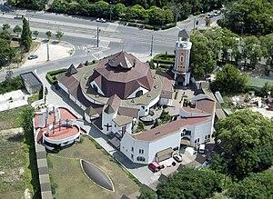 Újbuda - Image: Civertankelenfoldi kat templom