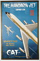 Civil Air Transport Convair 880 Poster Mandarin Jet (19290383058).jpg