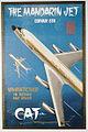 Civil Air Transport Convair 880 Poster Mandarin Jet (19290383058).jpg
