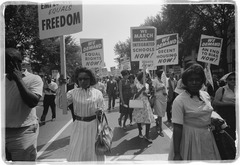 Civil rights march on washington dc schools.tif