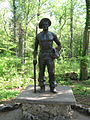 Civilian Conservation Corps Statue at Florida Caverns State Park.JPG
