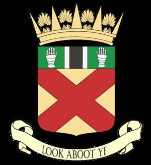 Clackmannanshire - Image: Clacks arms