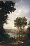 Claude Lorrain - Landscape with the Finding of Moses - WGA04979.jpg