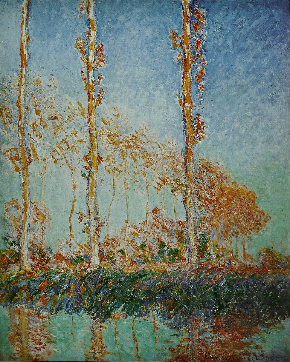Claude Monet - Les Peupliers