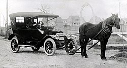 "Clinton Folgers ""Horsemobile"""
