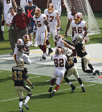 2008 Washington Redskins season - Against the Saints in week 2