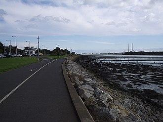 Clontarf, Dublin - Clontarf promenade