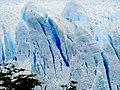 Closeup of cracks in ice Perito Moreno Glacier Los Glaciares National Park Argentina.jpg