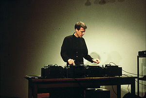Christian Marclay - Christian Marclay at Hallwalls in Buffalo, New York, 16 November 1985