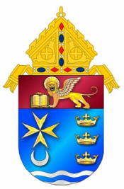 Coat of Arms Diocese of Venice, FL.png