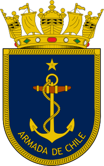 Coat of arms of the Chilean Navy.svg