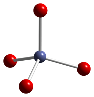 Cobalt(II,III) oxide - Image: Cobalt(II,III) oxide xtal 2006 Co(II) coord CM 3D balls