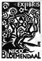 Cohen fre exlibris nico bloemendaal 1933.png