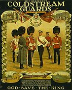 Coldstream Guards WWI poster