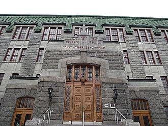 St. Charles Garnier College - Image: Collège Saint Charles Garnier