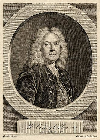 Theophilus Cibber - Colley Cibber, Theophilus' father Engraving by Gerard Van der Gucht, after Jean Baptiste van Loo