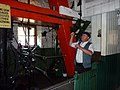 Colliery winding engine, Beamish Museum, 2 July 2010 (1).jpg