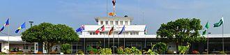 Ratmalana Airport - Image: Colombo Airport Ratmalana Landside View