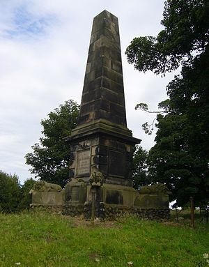 Battle of Prestonpans - Colonel Gardiner's Monument