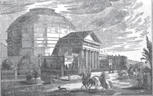 London Colosseum - The Colosseum, Regent's park, London (1827-74)