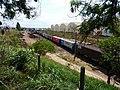 Comboios em cruzamento no pátio da Estação Ferroviária de Itu - Variante Boa Vista-Guaianã km 201-202 - panoramio (1).jpg
