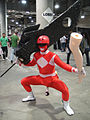Comikaze Expo 2011 - Power Ranger with personal problems (6324615691).jpg