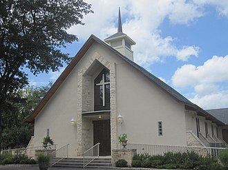 Concan, Texas - Image: Concan, TX, Baptist Temple IMG 4286