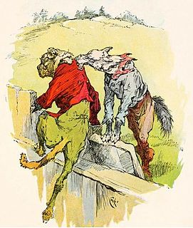 The Dog and the Wolf Esope fable
