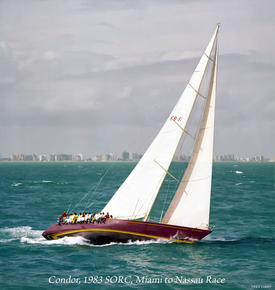Condor, Holland 80 owned by Robert Bell, Royal Bermuda Yacht Club.png