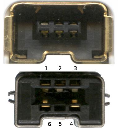 Conectores nunchuk wiimote