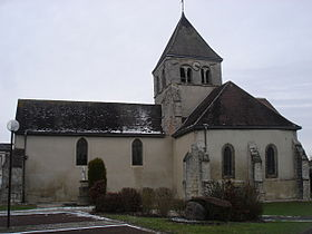 L'église Saint-Caprais de Connantre.