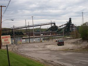 Conneaut, Ohio - Image: Conneaut industry