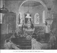 Conseil de guerre dans une église (Journal l'Illustration Octobre 17)