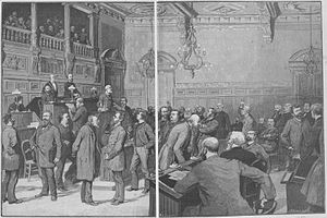 Paris in the Belle Époque - A meeting of the Paris Municipal Council (1889)