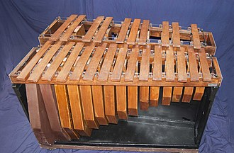 Marimba - Contrabass marimba: range of G1–G3