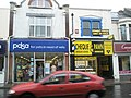 Contrasting shops in London Road - geograph.org.uk - 770458.jpg