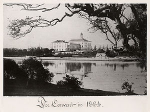Holy Names University - Convent of Our Lady of the Sacred Heart on Oakland's Lake Merritt, 1884