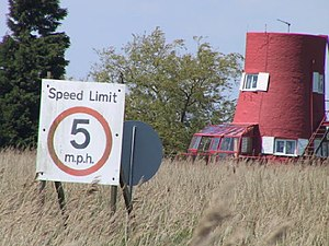 Reedham Ferry Drainage Mill - Image: Converted Windmill near Reedham geograph.org.uk 71527
