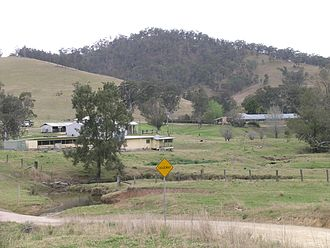 Station (Australian agriculture) - A cattle station in northern New South Wales
