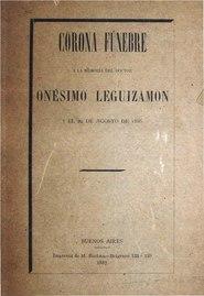 Corona funebre a la memoria del Doctor Onesimo Leguizamon.pdf