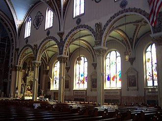Seven Churches Visitation - Corpus Christi, Buffalo, interior