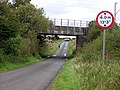 Country Road Passes Under Neilston Railway Line - geograph.org.uk - 245398.jpg